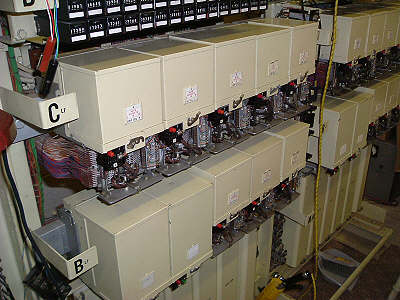 8 Linefinders and 2 Control Relay Sets per A rack